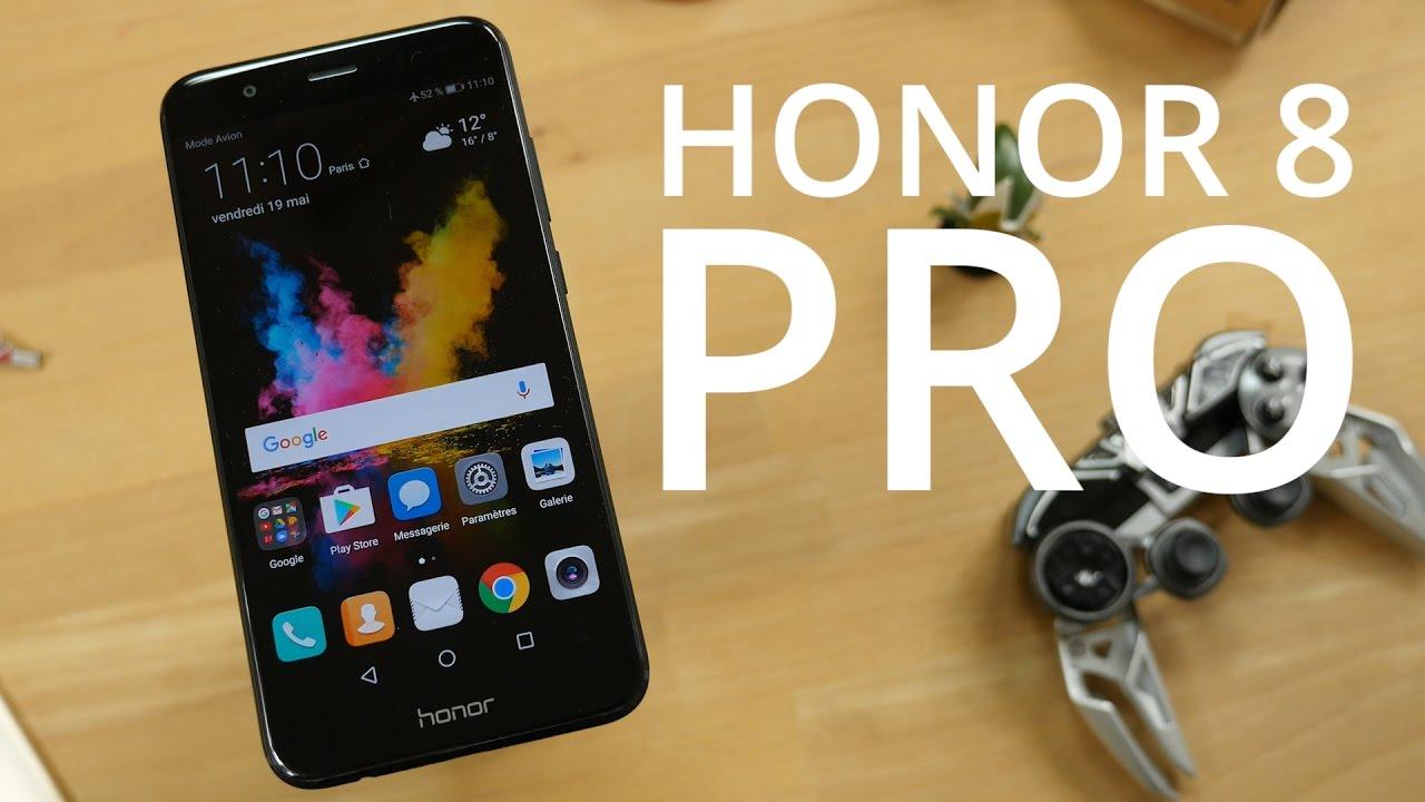 Test du Honor 8 Pro : un concentré de performances !