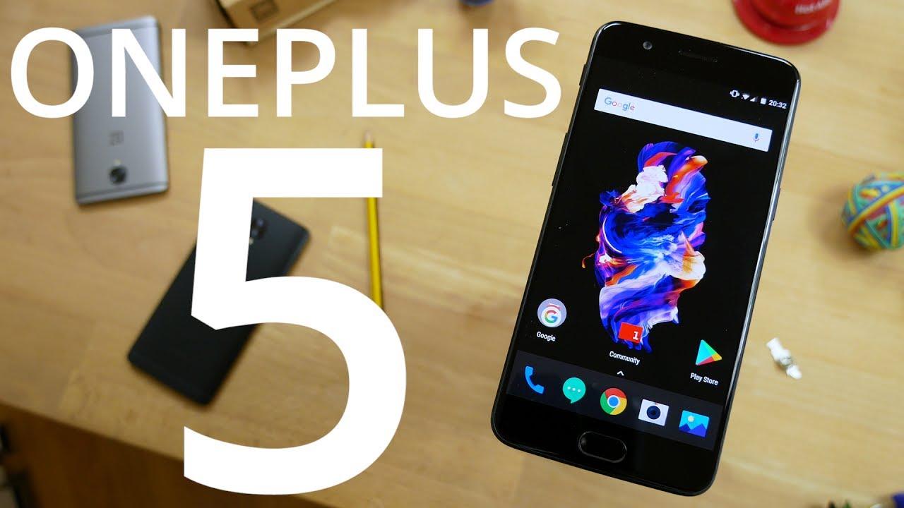 Test du OnePlus 5 : le smartphone de l'année !