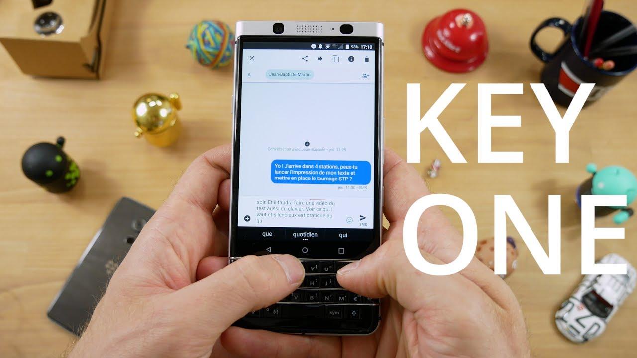 Test du BlackBerry KEYone : enfin un smartphone différent !