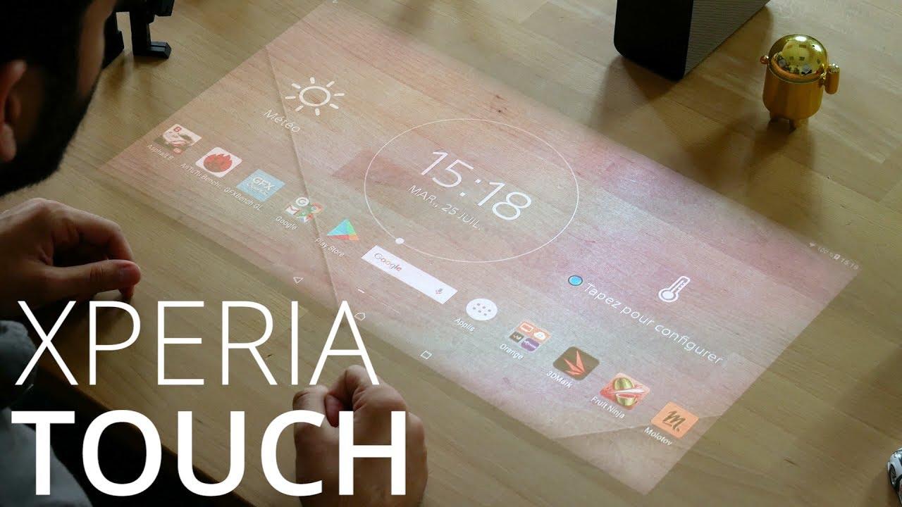 Test Sony Xperia Touch : de la magie et les surfaces deviennent tactiles