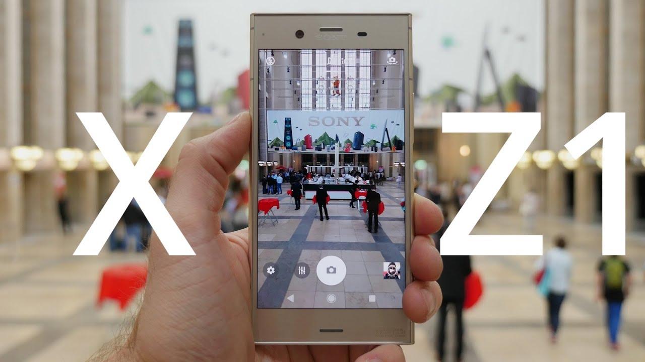 Prise en main du Sony Xperia XZ1 : le plus confortable de sa gamme