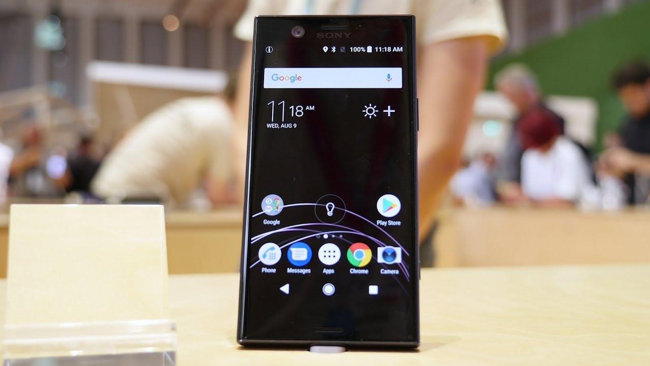 Découverte Sony Xperia XZ1 Compact: le plus petit smartphone premium