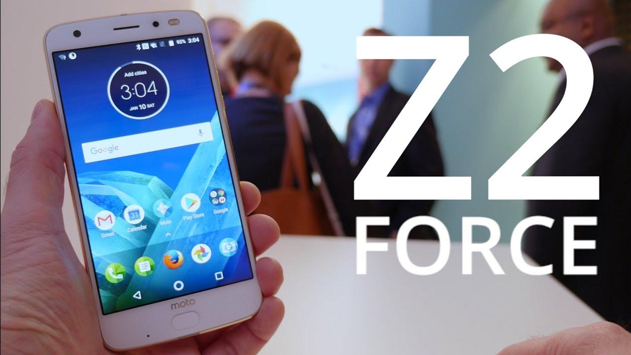 Découverte du Motorola Moto Z2 Force : puissant et modulable