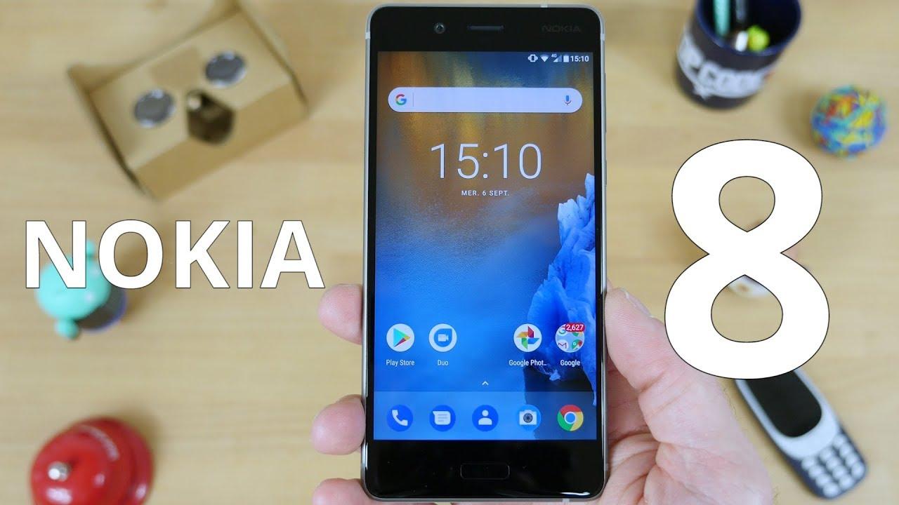 Test du Nokia 8 : la valeur sûre?