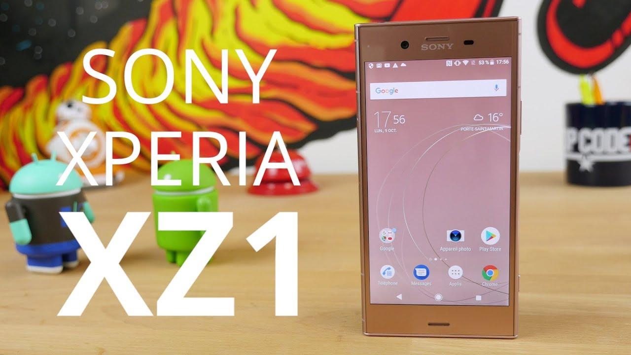 Test du Sony Xperia XZ1 : le premier flagship sous Android Oreo