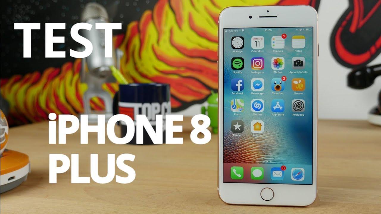 Test de l'iPhone 8 Plus : faut-il attendre l'iPhone X ?