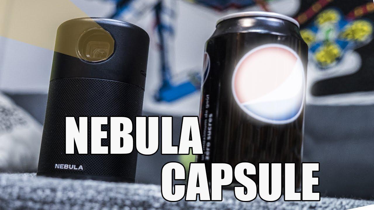 Un projecteur de la taille d'une CANETTE, le Nebula Capsule