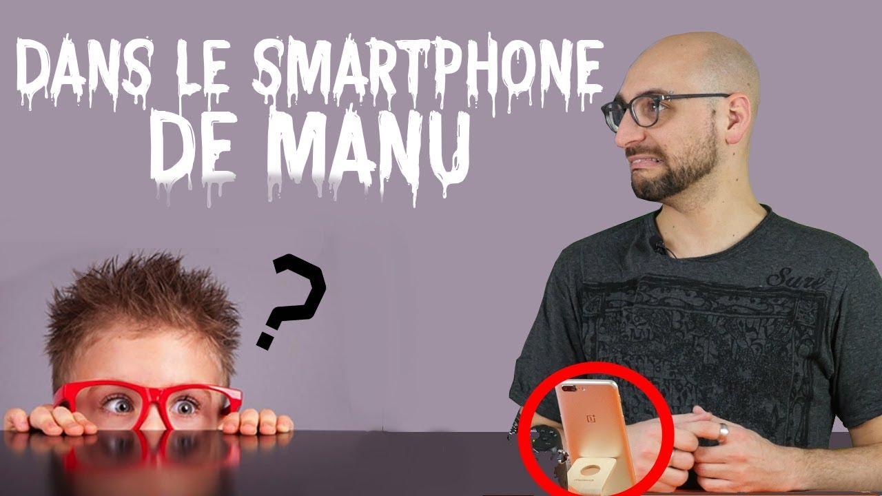 LE SMARTPHONE D'UN JOURNALISTE TECH ?