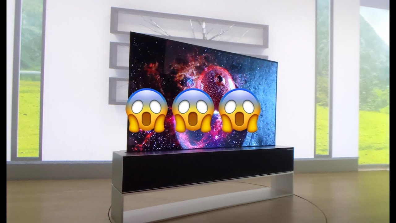 Les TV HALLUCINANTES du CES 2019
