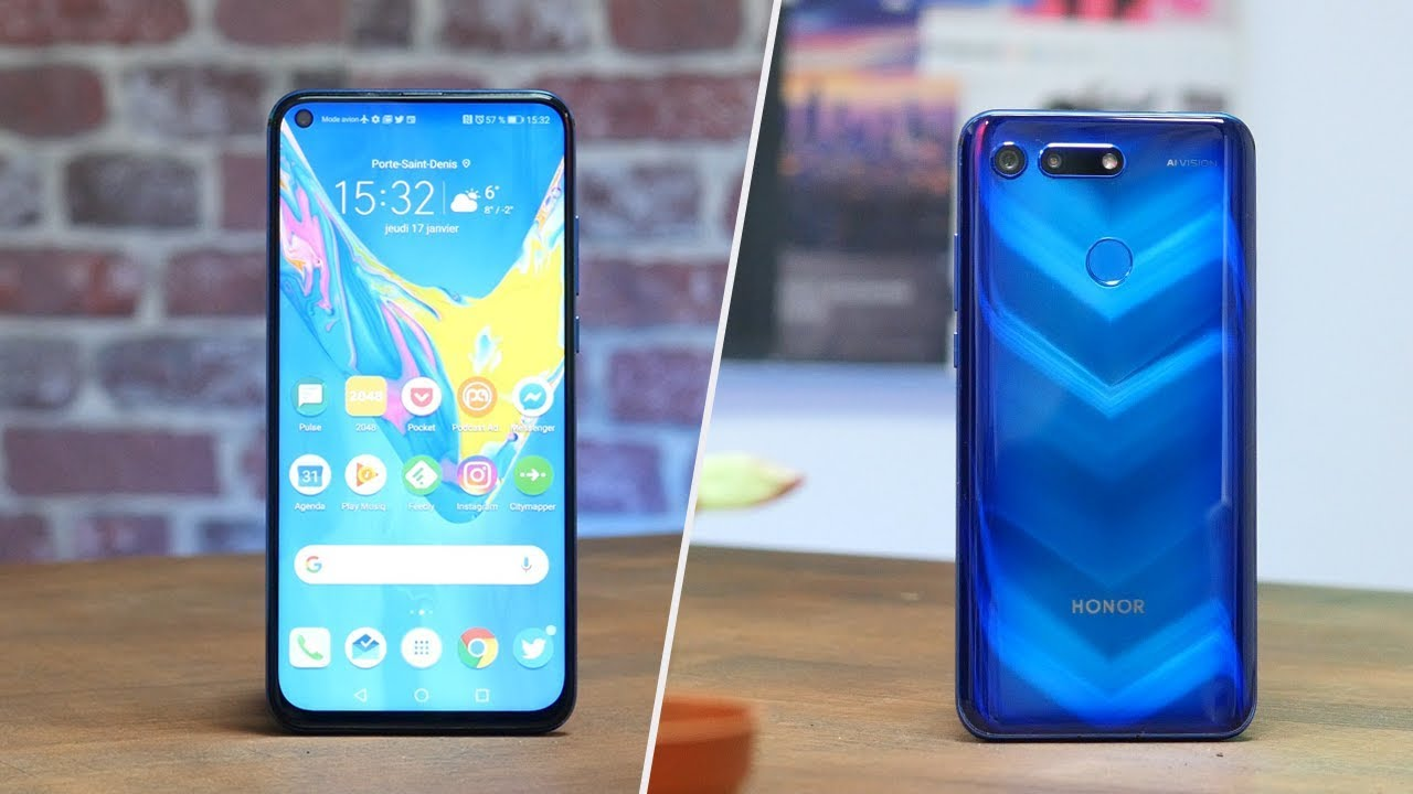 Ce smartphone PERCE LES CIEUX ! TEST Honor View 20