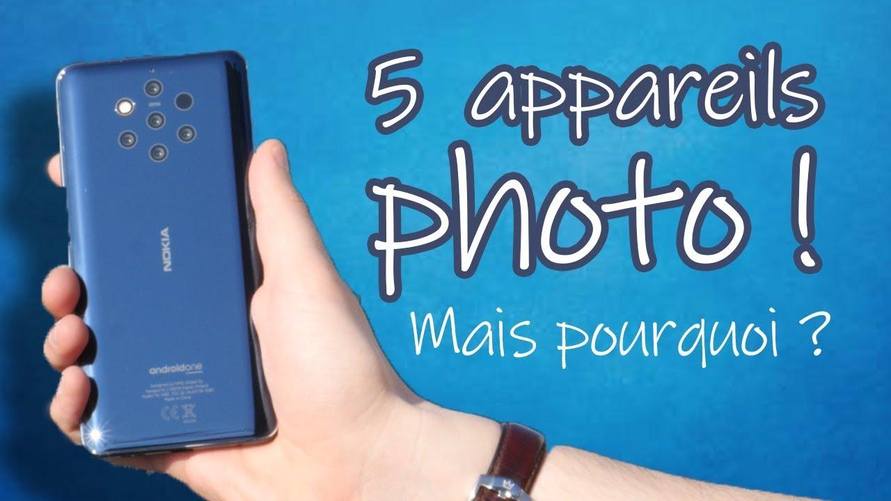 Nokia 9 PureView : 5 CAPTEURS PHOTO mais pas que ! Notre prise en main