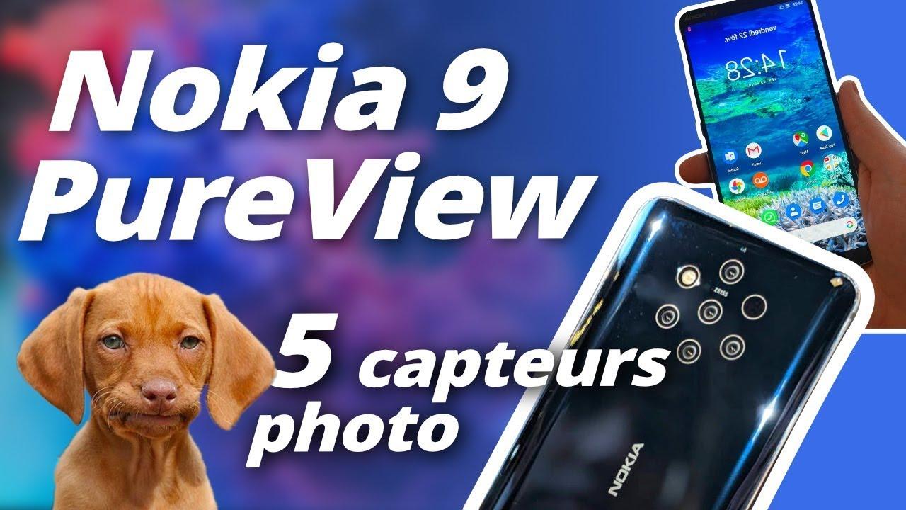 TEST Nokia 9 PureView : 5 capteurs, 5 fois plus lent !