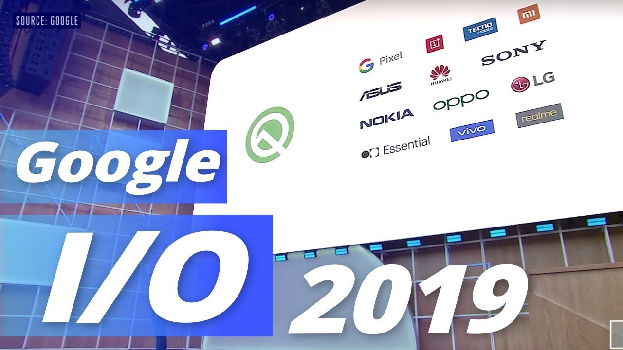 Google I/O 2019 :  Android Q, thème sombre, on vous dit tout sur les nouveautés !