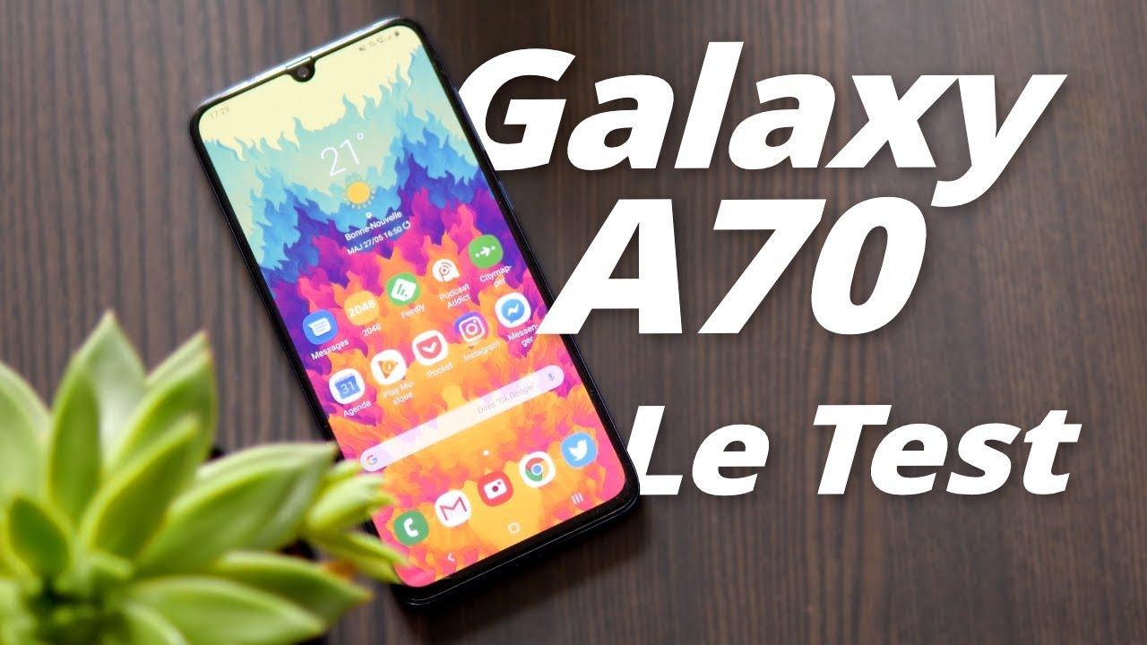 TEST du Samsung Galaxy A70 : son PIRE défaut ? La CONCURRENCE !