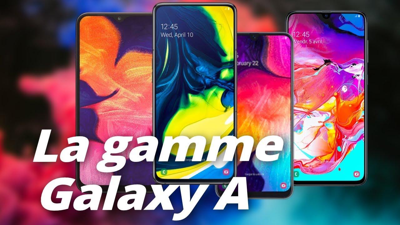 Galaxy A50, A70, A80 : les VRAIES STARS de Samsung !