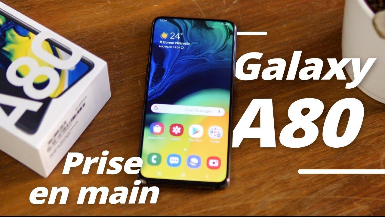 Samsung Galaxy A80 : déballage et premières impressions !