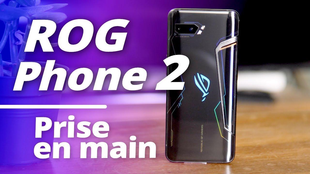 Asus ROG PHONE 2 : le smartphone le PLUS PUISSANT DU MONDE !