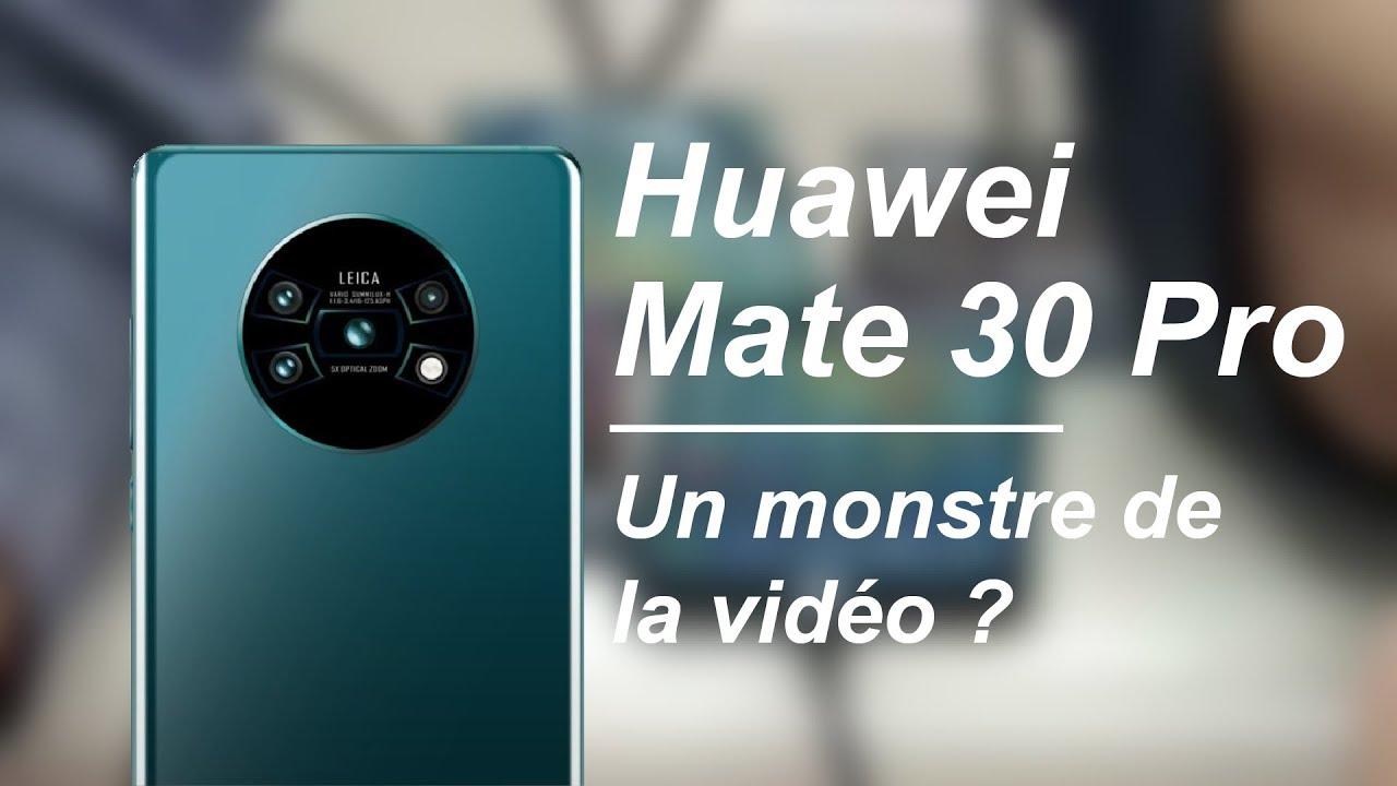 Le Huawei MATE 30 PRO veut encore REVOLUTIONNER la photo !
