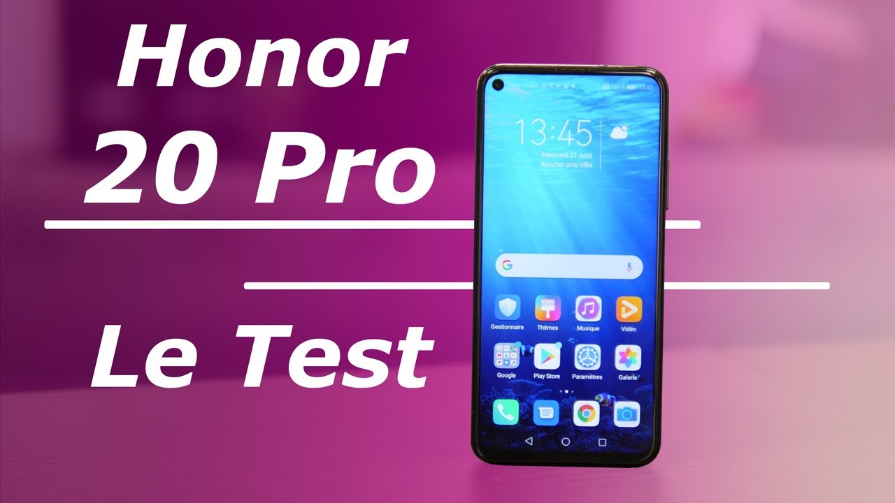Test Honor 20 Pro : belles PHOTOS, GROSSE autonomie !