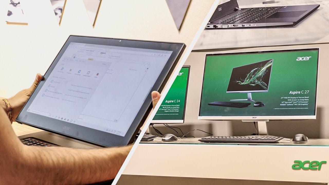 Acer Inspire C : Acer lance ses iMac sous Windows 10 et ChromeOS !