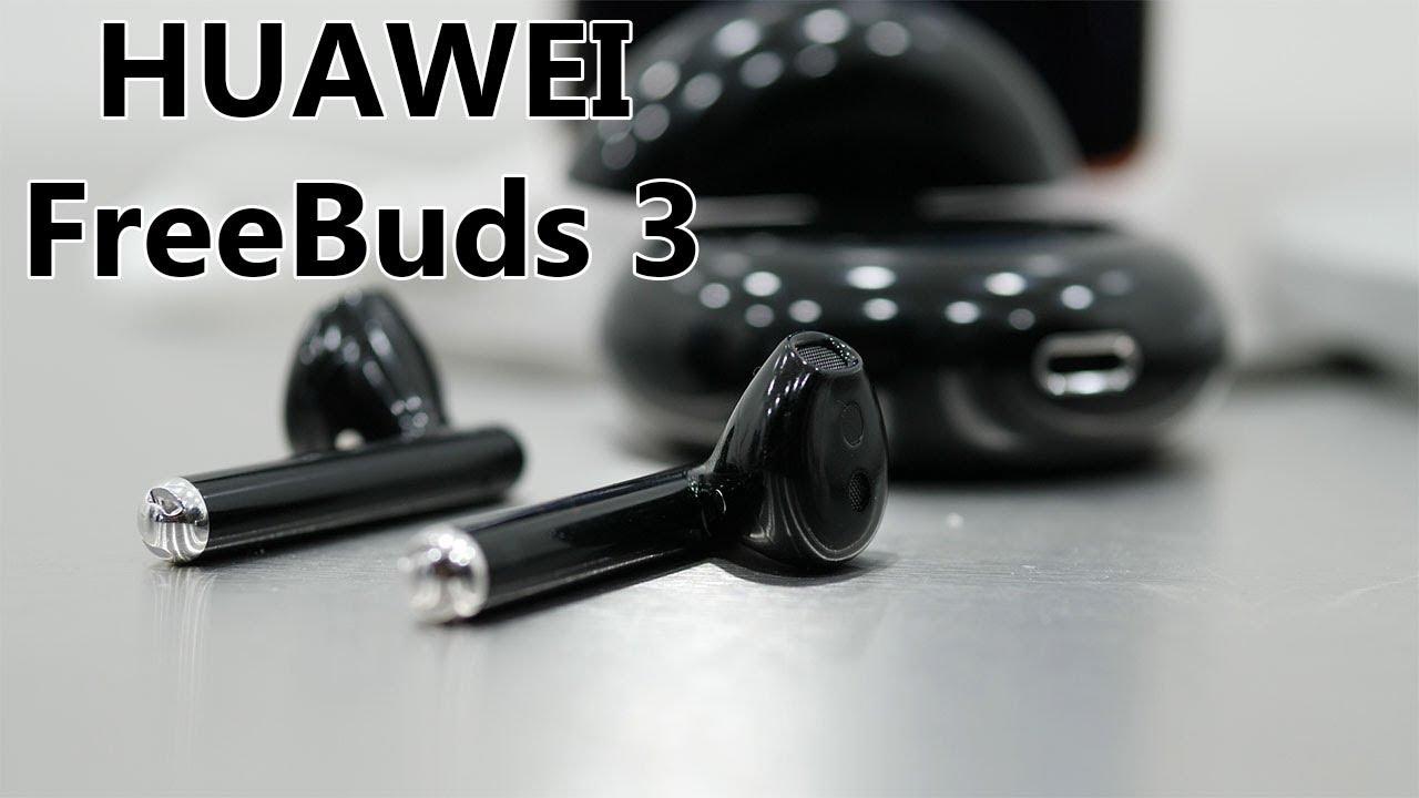 Freebuds 3 : HUAWEI présente des AirPods NOIRS avec réduction de bruit !