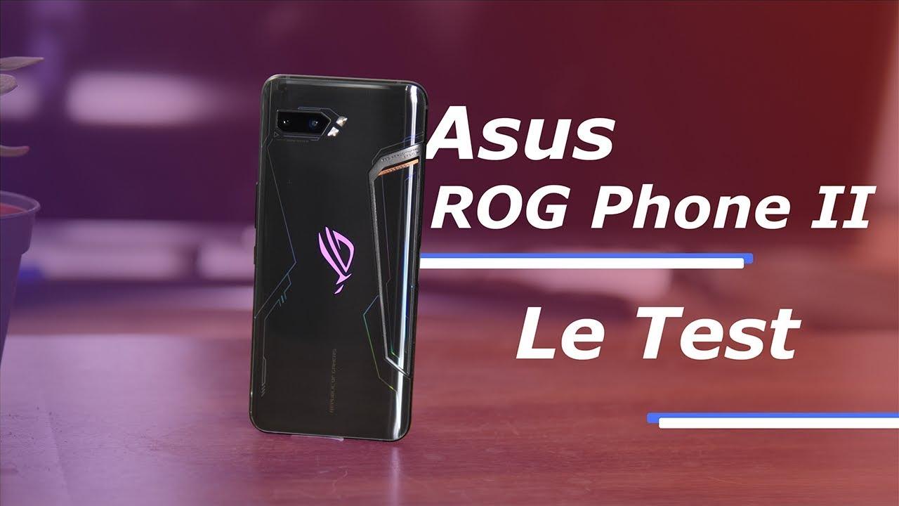 TEST Asus ROG Phone II : un MONSTRE de PUISSANCE !