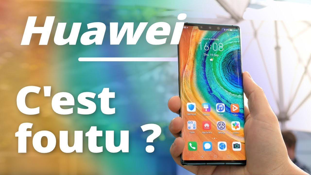 Le GOOGLE PLAY STORE sur le Huawei MATE 30 Pro, c'est possible !