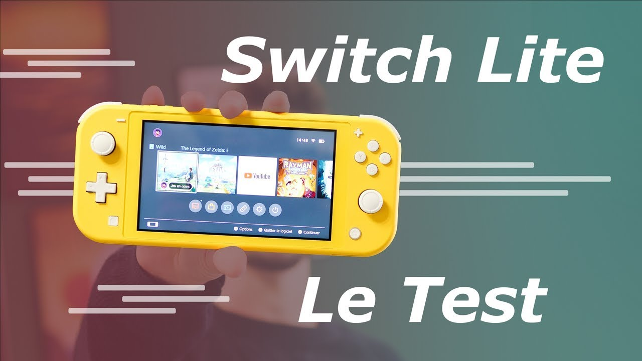Test Nintendo Switch Lite : petite, mignonne mais FRUSTRANTE !