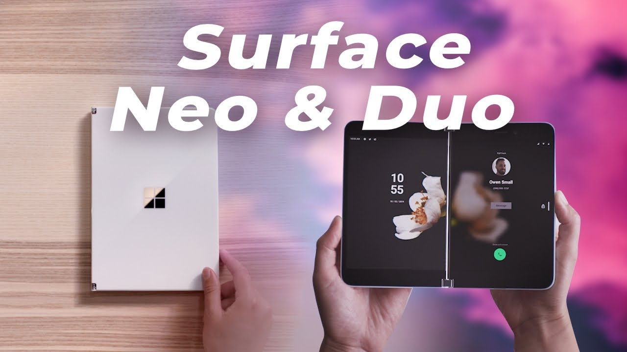 Surface Neo et Surface Duo : Microsoft vient de PLIER LE GAME !