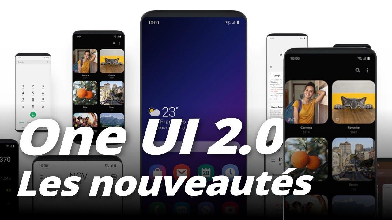 Android 10 sur Samsung Galaxy S10 : One UI 2.0 en bêta !