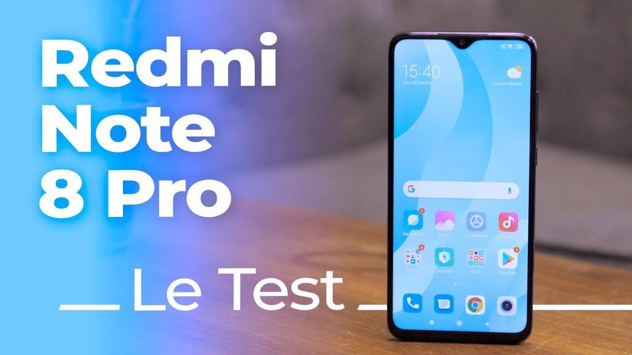 TEST Xiaomi Redmi Note 8 Pro :  le nouvel INCONTOURNABLE !