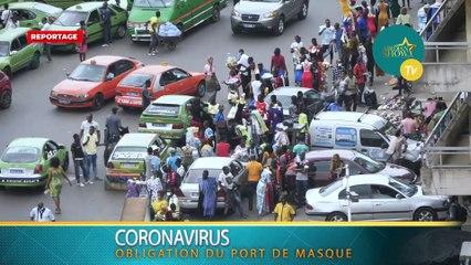 Port obligatoire de masque dans le grand Abidjan : la réaction de la population