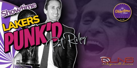 The SHOWTIME LAKERS BENCH Pokes Fun at Pat Riley in Recent Reunion - Showtime. Podcast w/ Coop
