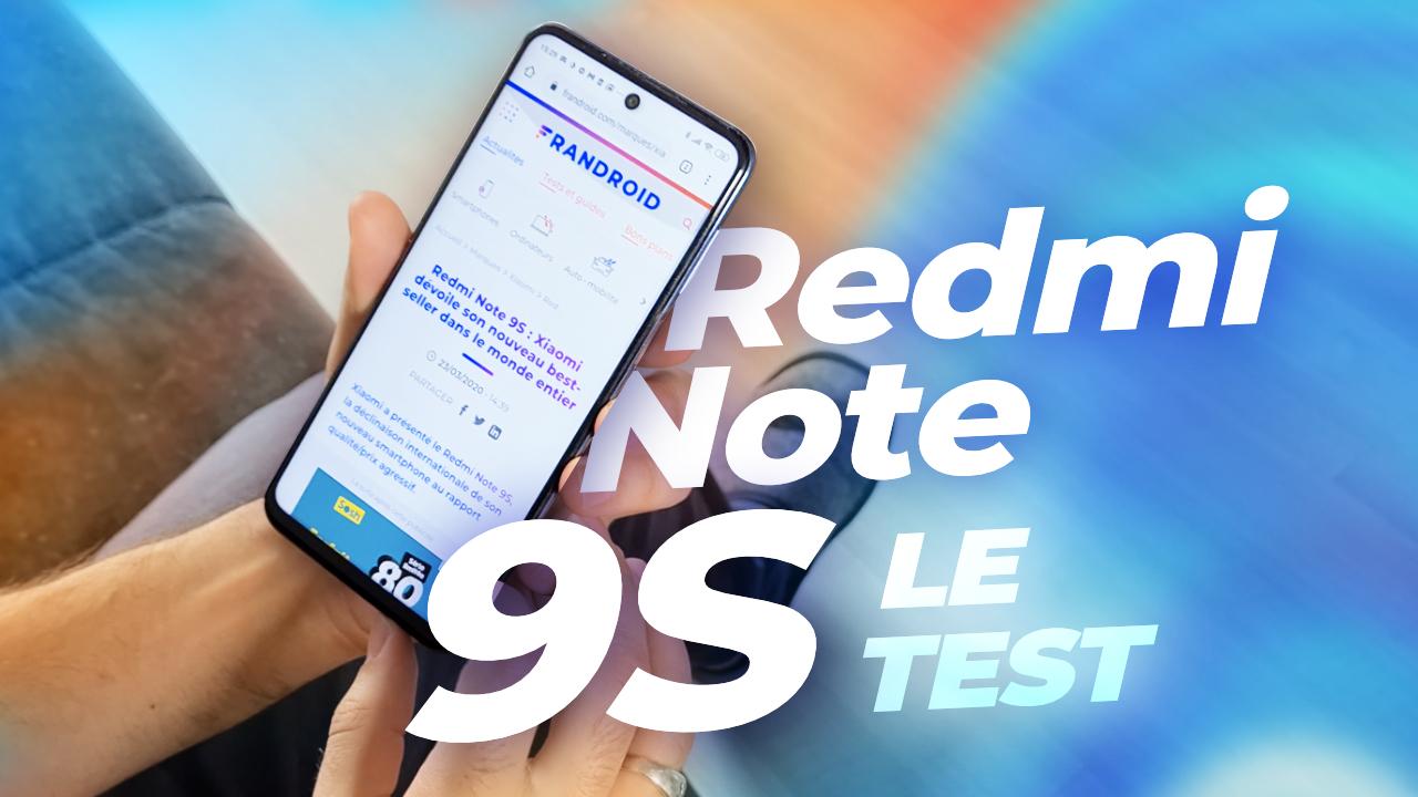 Test Xiaomi Redmi Note 9S : un nouveau ROI mais pas INCONTESTABLE !
