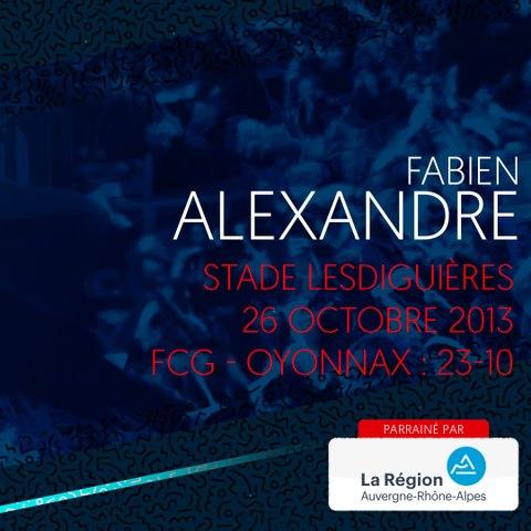 Video : Video - L'essai de Fabien Alexandre contre Oyonnax en 2013