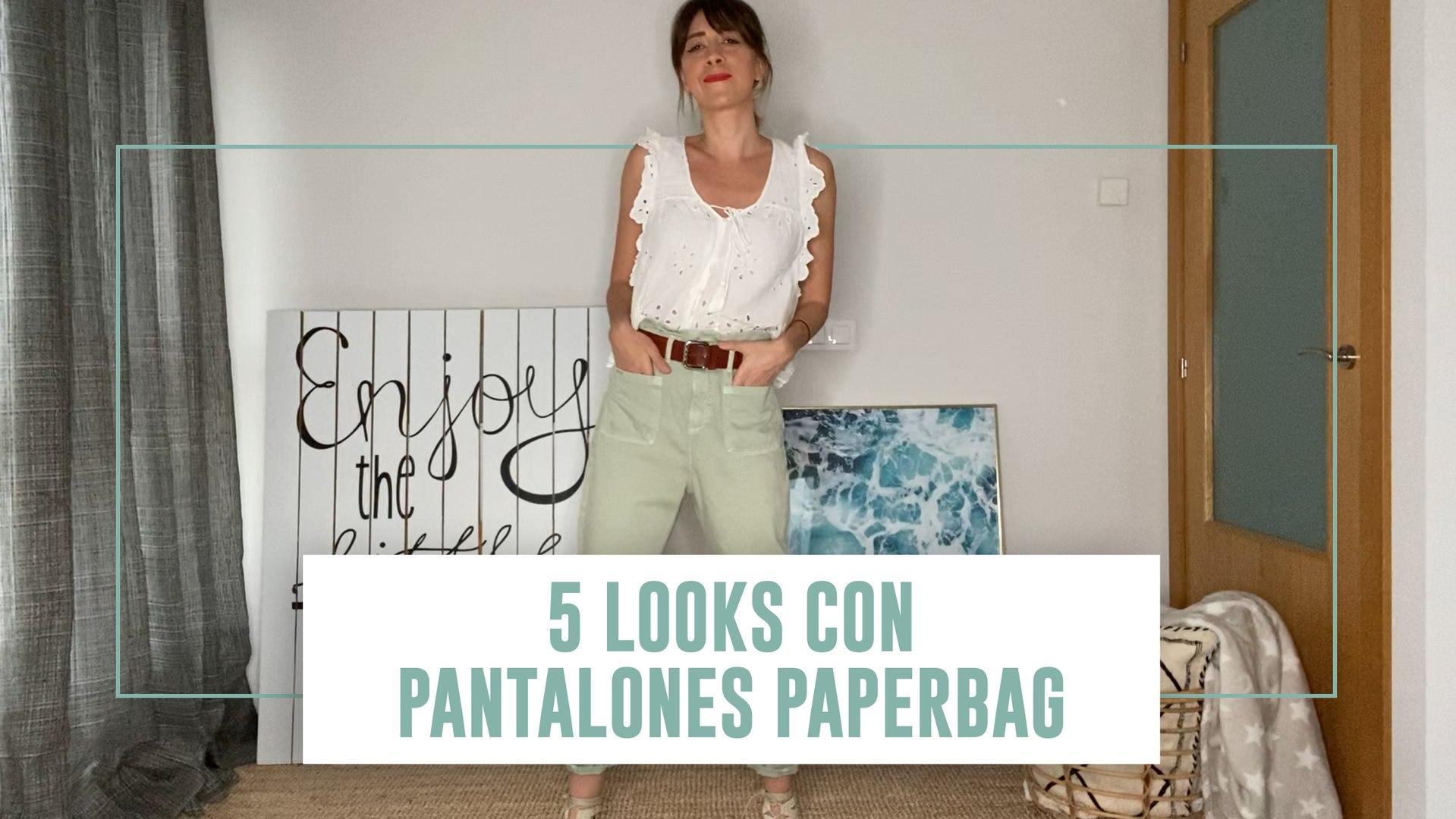 5 Looks Con Los Paper Bag De Zara Los Pantalones De Moda Que Disimulan Barriga Video Dailymotion
