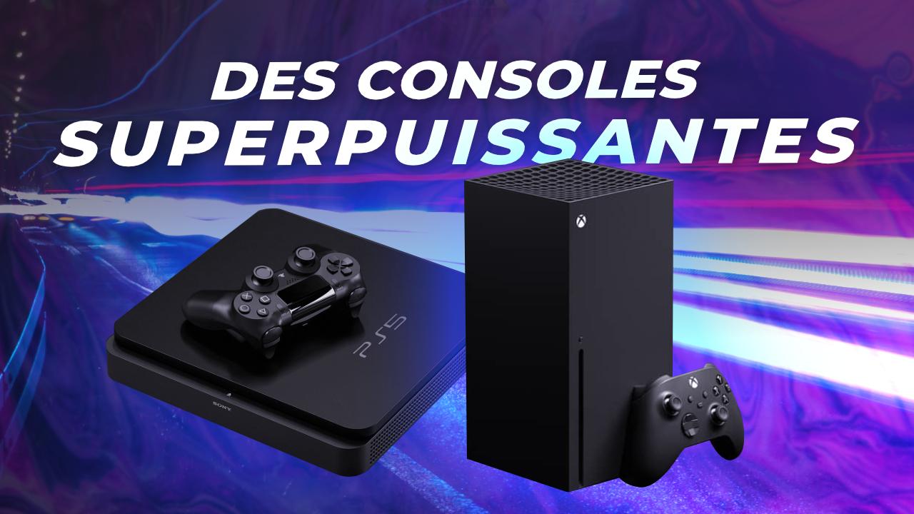 PS5 et Xbox Series X : des MONSTRES de puissance !