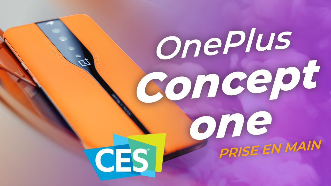 OnePlus Concept One : une caméra cachée... pour smartphone