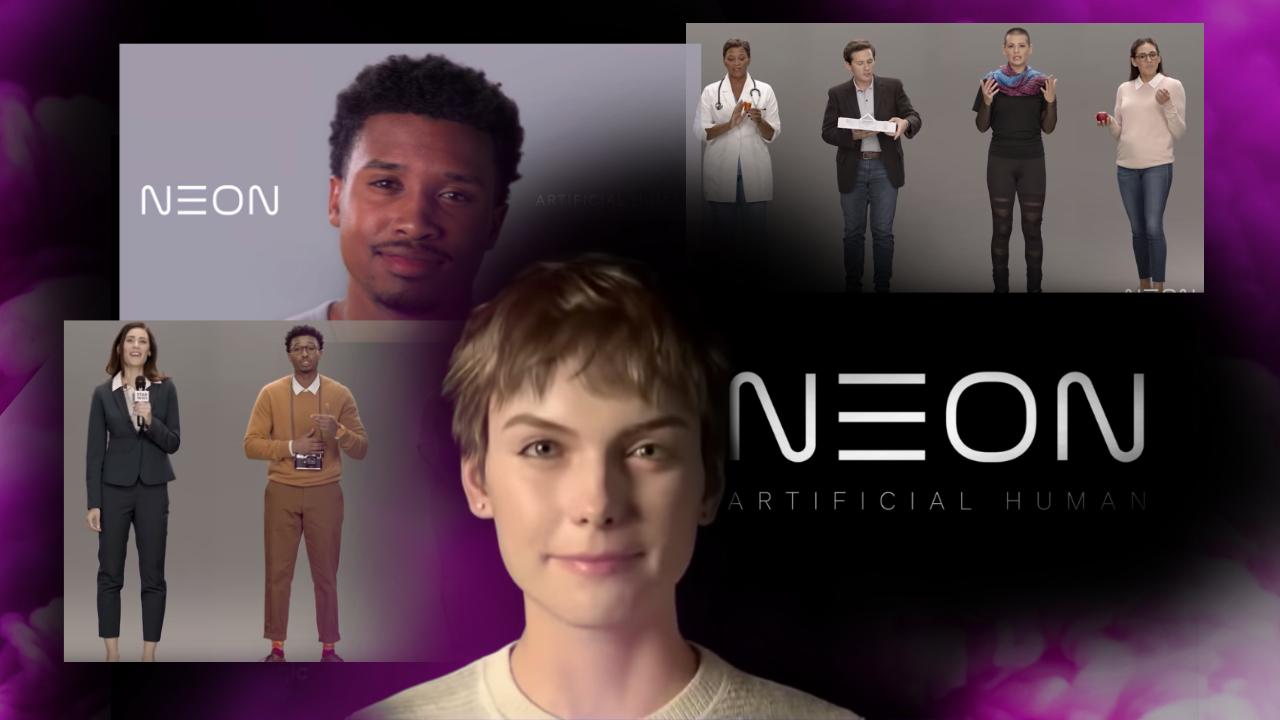 NEON : Samsung invente l'humain artificiel, RDV en 2050 ?