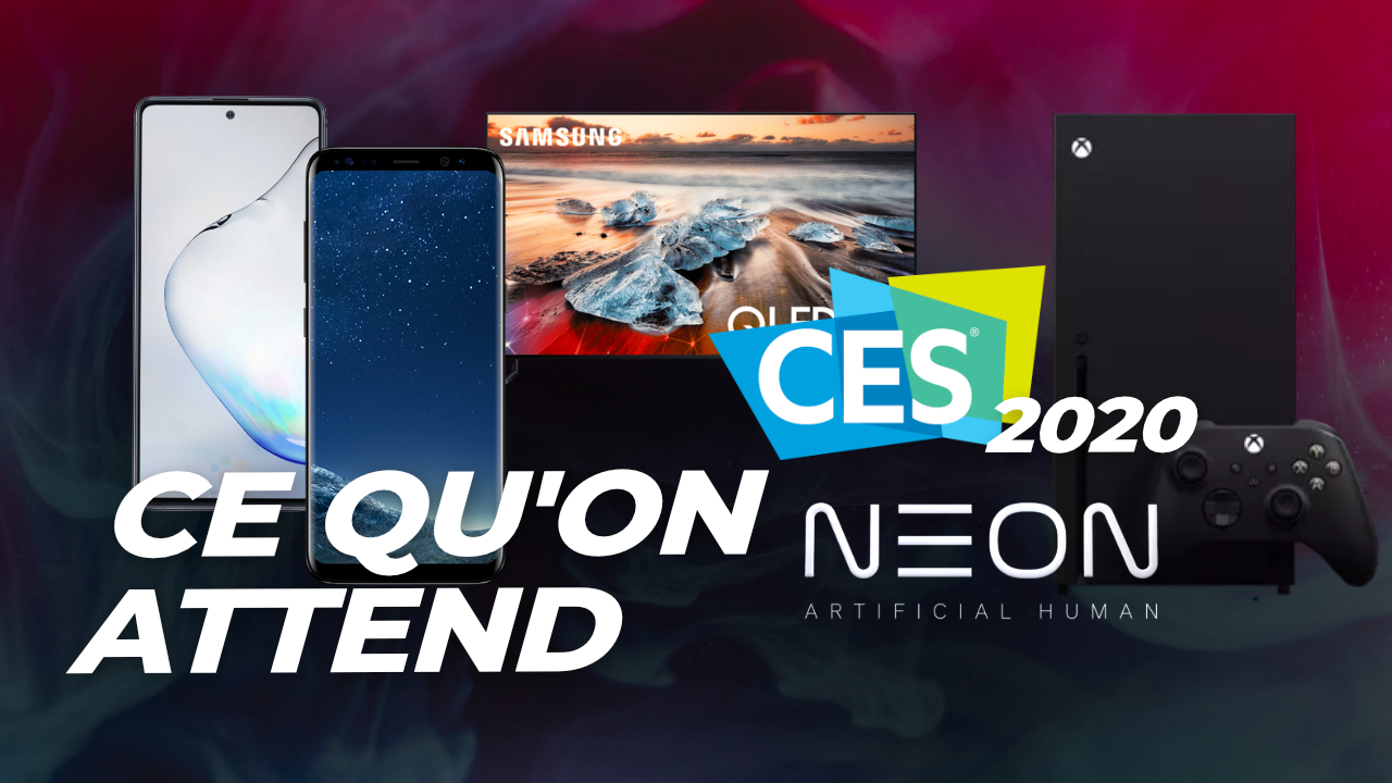 Galaxy S10 Lite et Note 10 Lite, OnePlus Concept One : ce qu'on attend du CES 2020 !