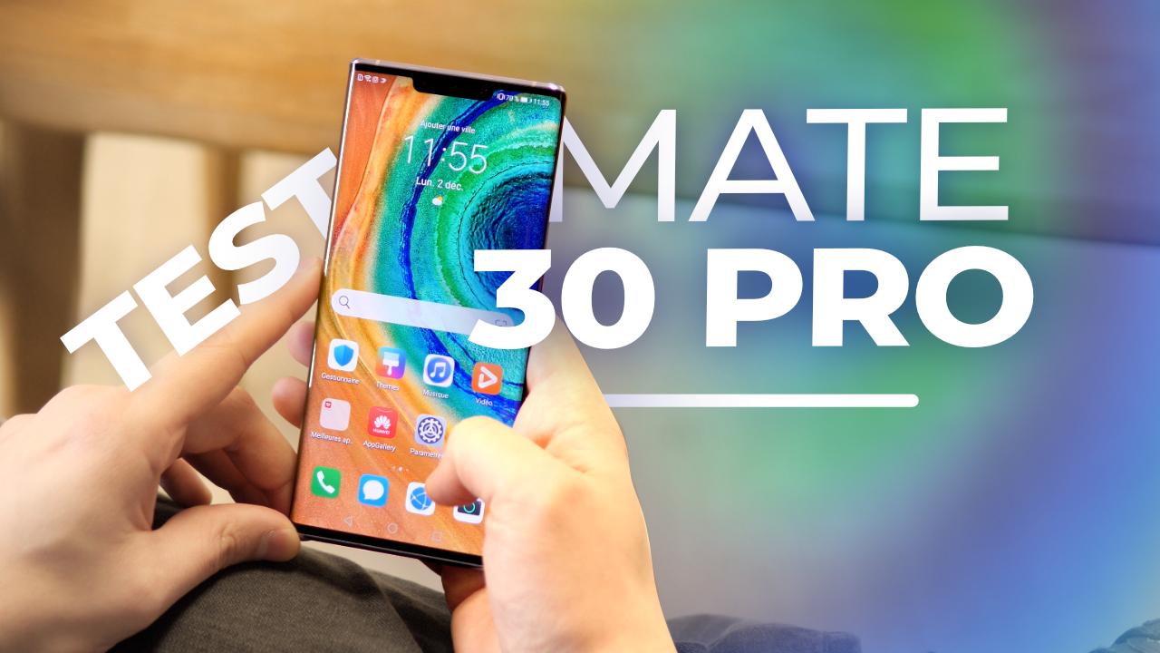 Test du Huawei Mate 30 Pro : aussi PARFAIT qu'INUTILISABLE