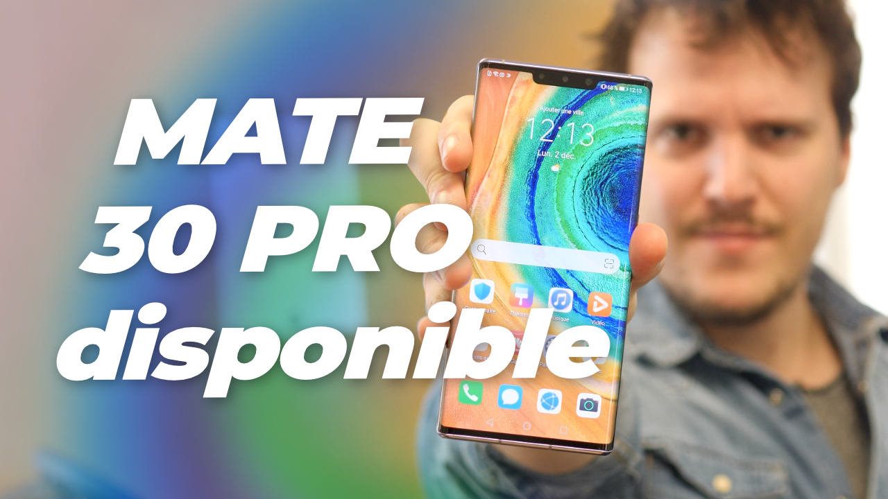 Nous avons REÇU le Huawei MATE 30 PRO !