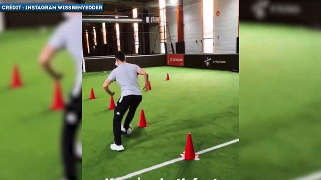 L'entraînement très technique de Wissam Ben Yedder