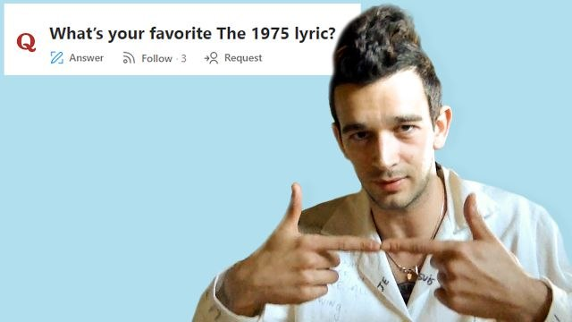 Matty Healy Goes Undercover on Reddit, YouTube and Twitter