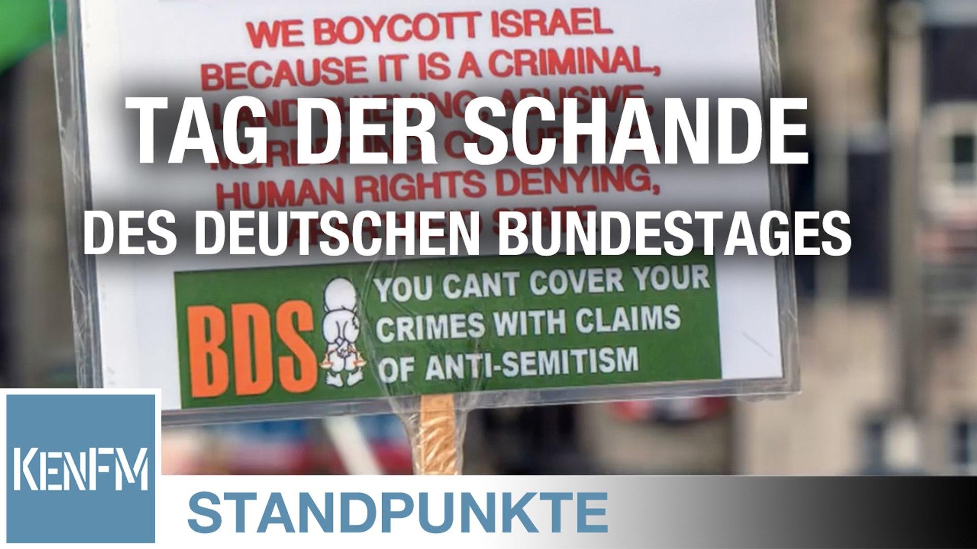 STANDPUNKTE • Der 17. Mai, Tag der Schande des deutschen Bundestages