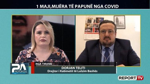 Mijra të papunë nga COVID, flet në Report TV drejtori i kabinitetit të Lulzim Bashës, Dorjan Teliti