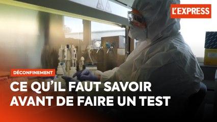 Test coronavirus : laboratoires, ordonnance, remboursement... tout ce qu'il faut savoir