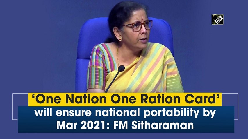 FM Nirmala Sitharaman holds press conference to detail on 2nd part of Rs 20 lahk crore package
