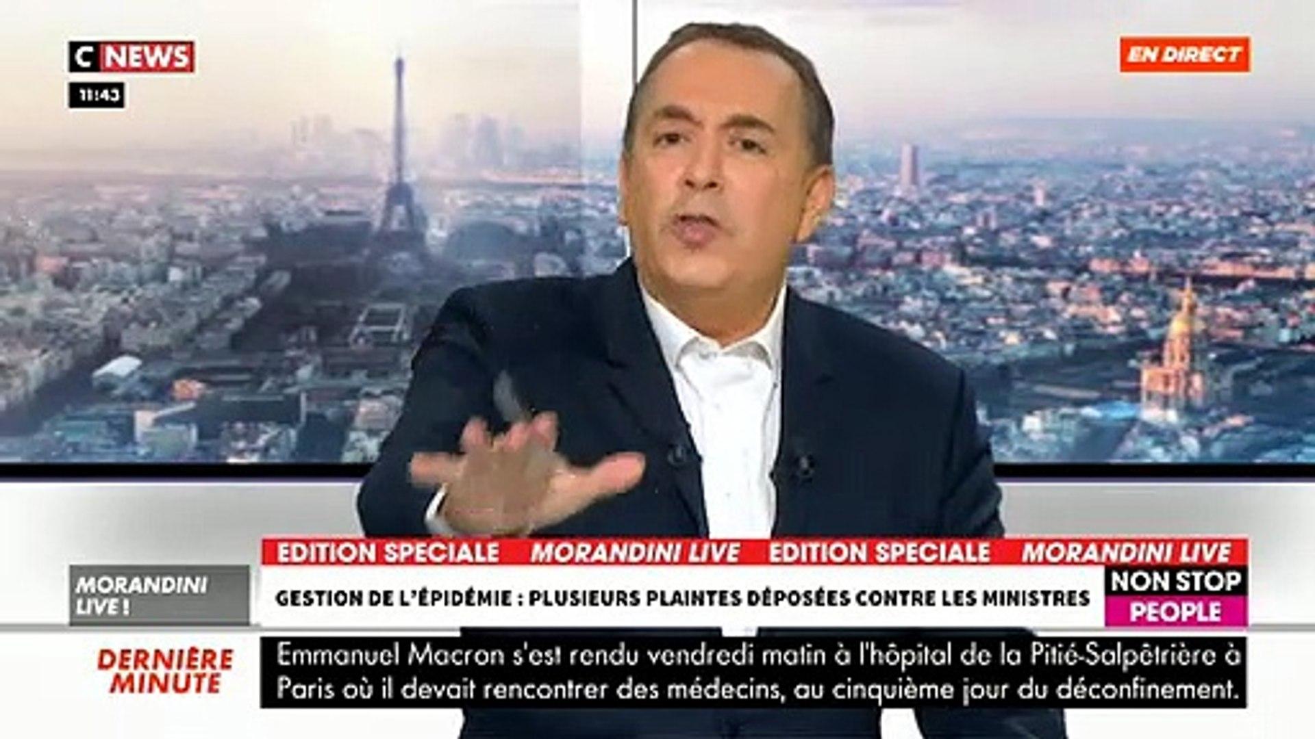 Echange tendu ce matin en direct dans «Morandini Live» sur CNews entre Maître Fabrice Di Vizio et