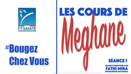 SAVATE boxe française -  Cours Séance 1 / #BOUGEZCHEZVOUS…⏱ … avec Méghane AMOURI